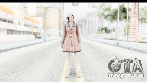 DoA 5 - Mila Casual for GTA San Andreas second screenshot