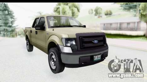 Ford F-150 Stock for GTA San Andreas right view