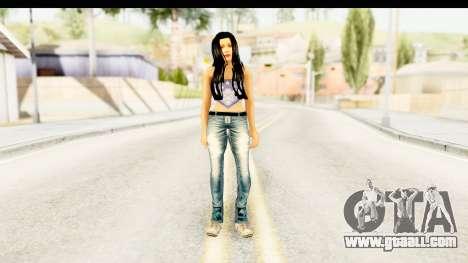 Gangsta Girl for GTA San Andreas second screenshot