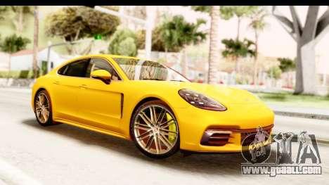 Porsche Panamera 4S 2017 v3 for GTA San Andreas