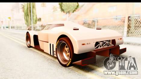 GTA 5 Annis RE-7B for GTA San Andreas back left view