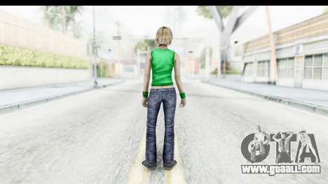 Silent Hill 3 - Heather Sporty Green Get A Life for GTA San Andreas third screenshot