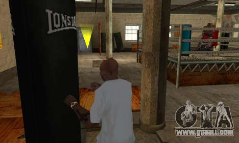 LonsDale punching bag for GTA San Andreas fifth screenshot