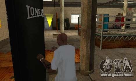 LonsDale punching bag for GTA San Andreas fifth screenshot