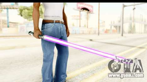 Sword Art Online II - Kiritos Saber for GTA San Andreas