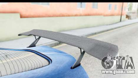 GTA 5 Dewbauchee Seven 70 for GTA San Andreas inner view