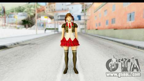 DoA 5 - Lei Fang Pop Idol for GTA San Andreas second screenshot