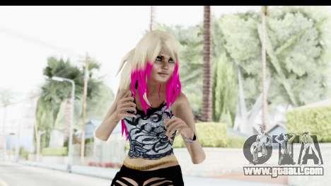 Summer Ombre Hair for GTA San Andreas