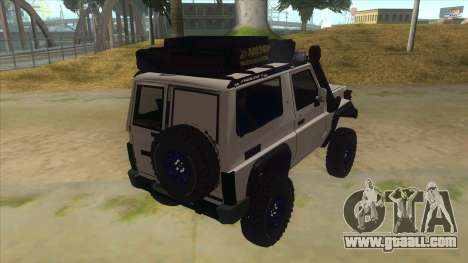 Toyota Machito Semi Off Road for GTA San Andreas right view