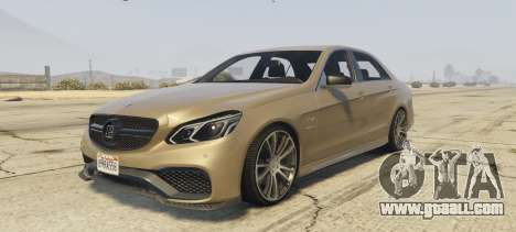Mercedes-Benz E63 Brabus 850HP for GTA 5