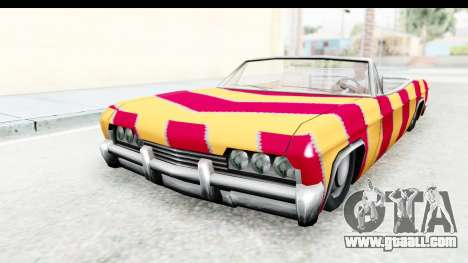 Blade New PJ for GTA San Andreas back left view