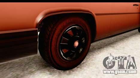 GTA 5 Albany Emperor SA Style for GTA San Andreas back view