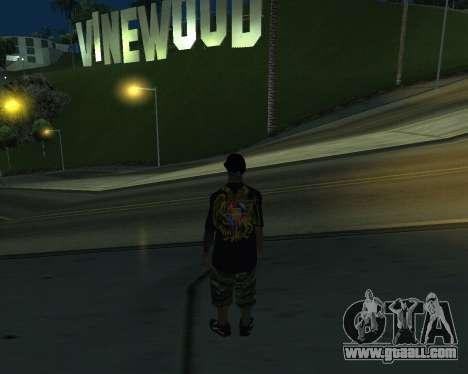 New Armenian Skin for GTA San Andreas sixth screenshot