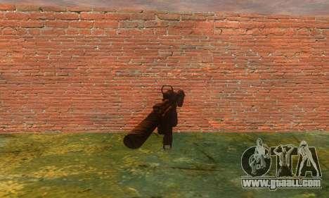 Noveske Diplomat 7.5 for GTA San Andreas second screenshot