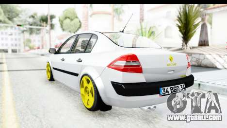 Renault Megane for GTA San Andreas right view