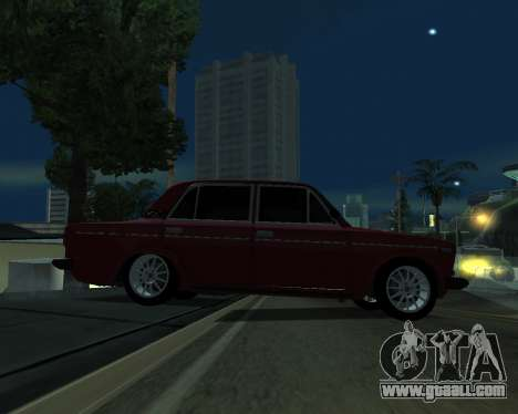 VAZ 2106 Armenian for GTA San Andreas side view