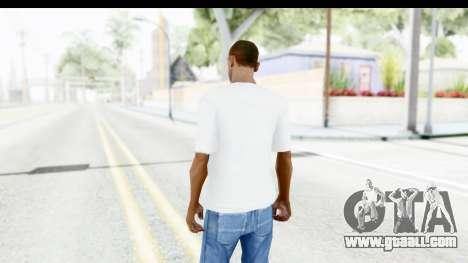 Nike Just Do It T-Shirt for GTA San Andreas third screenshot