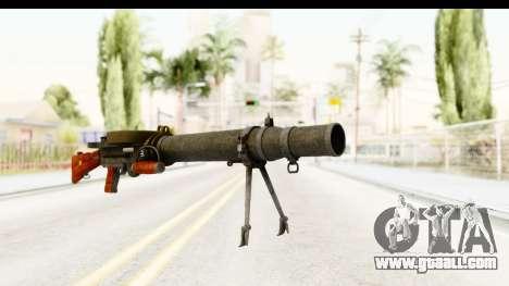 Lewis Machinegun for GTA San Andreas