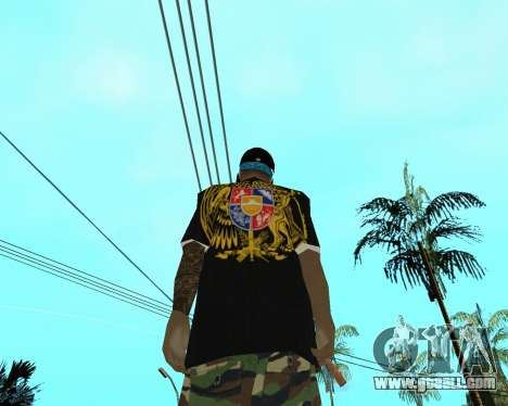 New Armenian Skin for GTA San Andreas fifth screenshot