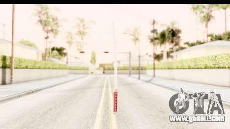 Bleach - Rukia Weapon for GTA San Andreas third screenshot