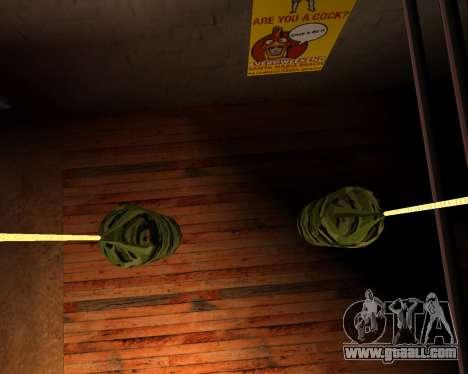 New military punching bag for GTA San Andreas forth screenshot
