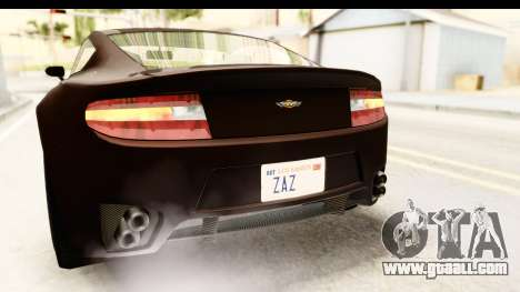 GTA 5 Dewbauchee Rapid GT SA Style for GTA San Andreas bottom view