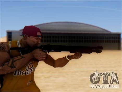 GTA V Shrewsbury Pump Shotgun for GTA San Andreas third screenshot