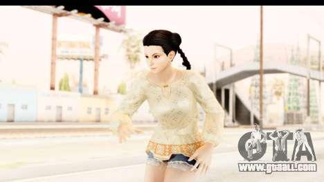 DoA 5 - Pai Chan Casual for GTA San Andreas