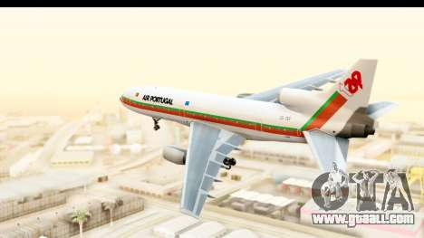 Lockheed L-1011-100 TriStar TAP Portugal for GTA San Andreas right view