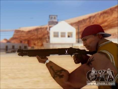 GTA V Shrewsbury Pump Shotgun for GTA San Andreas forth screenshot