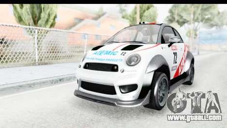 GTA 5 Grotti Brioso RA for GTA San Andreas inner view