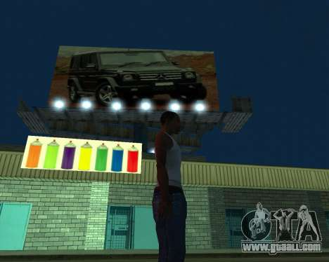 Paint the garage for GTA San Andreas second screenshot