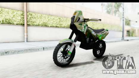 GTA 5 Nagasaki BF400 Custom v2 IVF for GTA San Andreas right view
