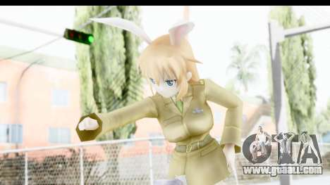Charlotte (Strike Witches) for GTA San Andreas