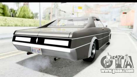 Imponte Tempest 1966 for GTA San Andreas left view