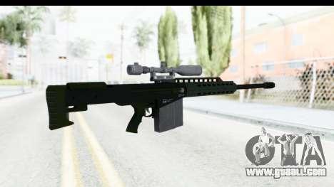 GTA 5 Vom Feuer Heavy Sniper for GTA San Andreas second screenshot