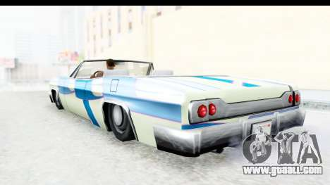 Blade New PJ for GTA San Andreas inner view
