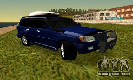 Toyota Land Cruiser 100vx2 for GTA San Andreas