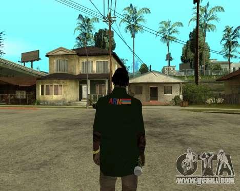 Armenian Skin for GTA San Andreas second screenshot