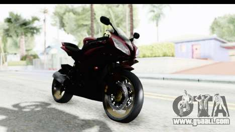 Yamaha YZF-R6 2008 for GTA San Andreas right view