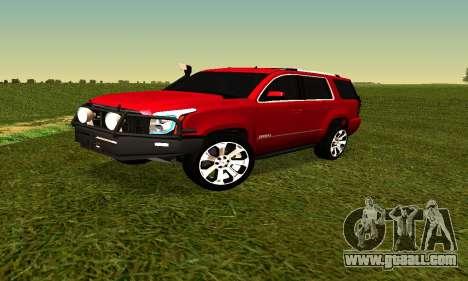 GMG Yukon 2015 for GTA San Andreas