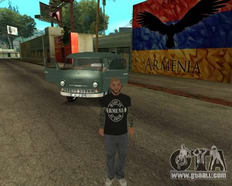 Eraz 762 Armenian for GTA San Andreas side view