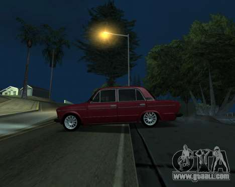 VAZ 2106 Armenian for GTA San Andreas back view