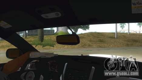 2008 Subaru WRX Widebody L3D for GTA San Andreas inner view