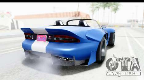 GTA 5 Bravado Banshee 900R Mip Map IVF for GTA San Andreas left view