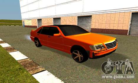 Mercedes Benz S600 AMG for GTA San Andreas