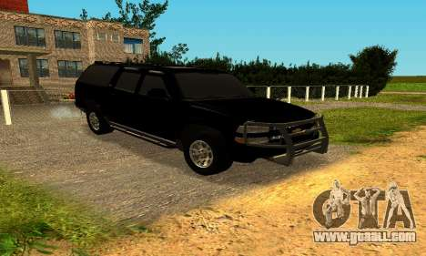 Chevrolet Colorado for GTA San Andreas left view
