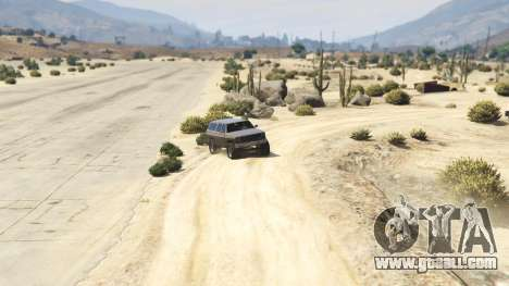 GTA 5 Off-roading Rancher fourth screenshot