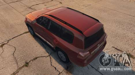 GTA 5 Toyota Land Cruiser 2013 left side view