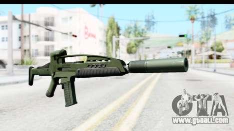 H&K XM8 Silenced for GTA San Andreas